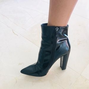 Jessica Simpson Teddi Black Booties 9
